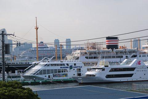 横浜は船と共にある港町